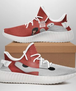 BIG HERO 6 LIMITED EDITION WHITE YEEZY SNEAKER RUNNING BOOTS