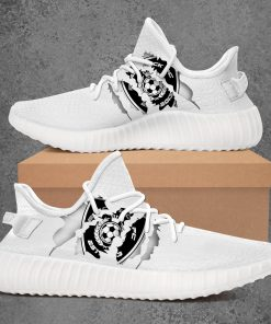 BLACK ROCK FC LIMITED EDITION WHITE YEEZY SNEAKER RUNNING BOOTS VER 1