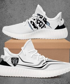 BLACK ROCK FC LIMITED EDITION WHITE YEEZY SNEAKER RUNNING BOOTS VER 2