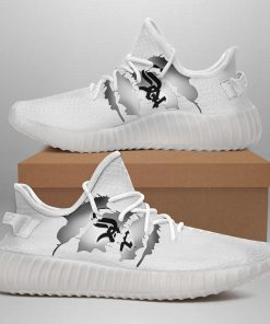 CHICAGO WHITE SOX LIMITED EDITION WHITE YEEZY SNEAKER SHOES