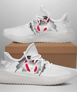 CLEVELAND INDIANS LIMITED EDITION WHITE YEEZY SNEAKER