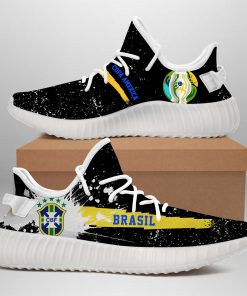 COPA AMERICA BRASIL LIMITED EDITION WHITE YEEZY SNEAKER RUNNING BOOTS