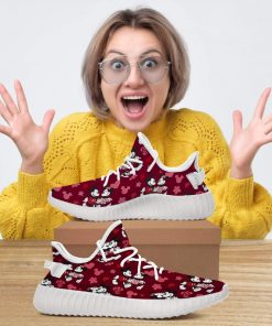 DISNEY MICKEY AND MINNIES RED YEEZY GIFT FOR GIRL FRIEND BOY FRIEND AND VALENTINE