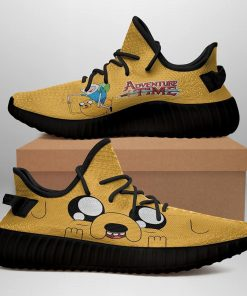 FUNNY ADVENTURE TIME LIMITED EDITION BLACK YEEZY SNEAKER