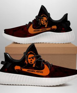 MICHAEL MYERS LIMITED EDITION BLACK YEEZY SNEAKER RUNNING BOOTS