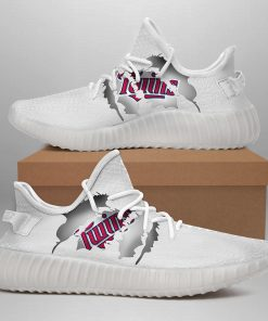 MINNESOTA TWINS LIMITED EDITION WHITE YEEZY SNEAKER SHOES