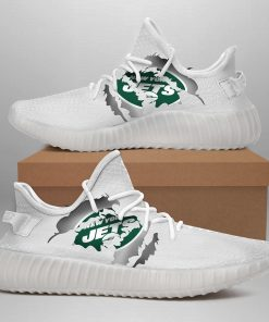 NEW YORK JETS LIMITED EDITION YEEZY SNEAKER GIFT FOR FANS
