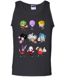 Dragonball Chibi Sticker Jiren Goku Tank Top