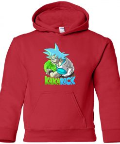 Dragonball Rick And Morty Goku Premium Youth Hoodie