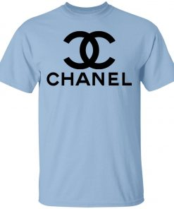 Logo Chanel Black Unisex T-Shirt
