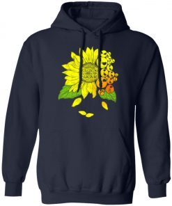 Face Jack Skellington Sunflower You Are My Sunshine Pullover Hoodie