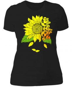 Face Jack Skellington Sunflower You Are My Sunshine Women's T-Shirt
