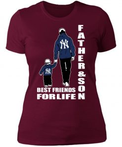 Like Father Like Son New York Yankees Women's T-Shirt