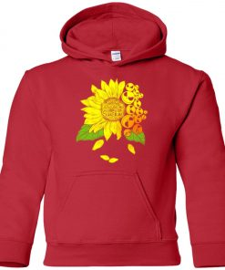 Face Jack Skellington Sunflower You Are My Sunshine Premium Youth Hoodie