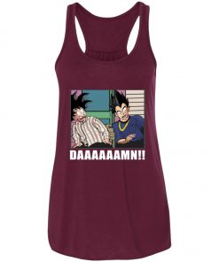 Friday Damn Meme By Goku And Vegeta Women's Tank Top
