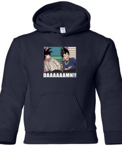 Friday Damn Meme By Goku And Vegeta Premium Youth Hoodie