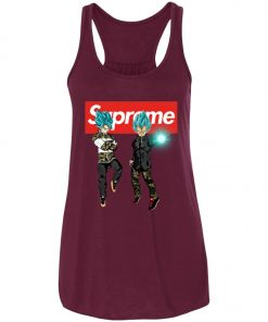 Goku And Vegeta Blue Hypebeast Supreme Women's Tank Top
