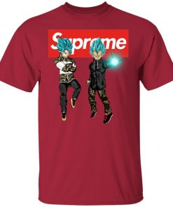 Goku And Vegeta Blue Hypebeast Supreme Unisex T-Shirt