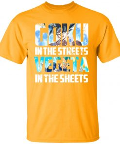 Goku In The Streets Vegeta In The Sheets Youth Kid T-Shirt