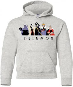 Disney Villains Friends Premium Youth Hoodie