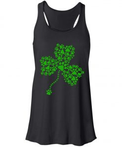 Dog Paw Shamrock Lucky Glover Women's Tank Top