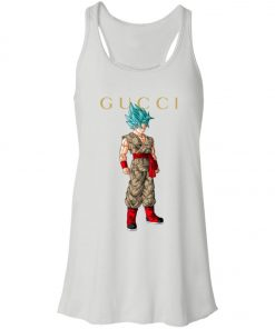 Gucci x Dragonball Goku Blue Women's Tank Top