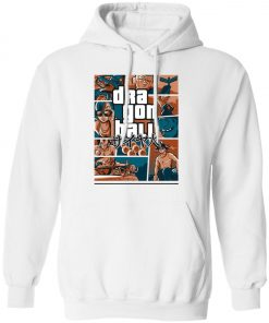 Dragonball GTA Style Cover Pullover Hoodie