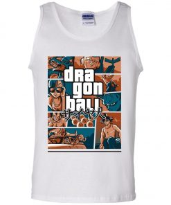 Dragonball GTA Style Cover Tank Top