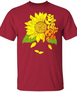 Face Jack Skellington Sunflower You Are My Sunshine Unisex T-Shirt