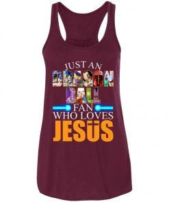 Dragonball Fan Who Loves Jesus Women's Tank Top