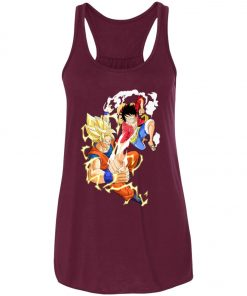 SSJ Goku Vs Luffy Women's Tank Top