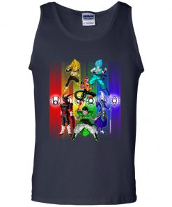 Dragonball Main Poster Tank Top