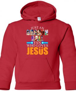 Dragonball Fan Who Loves Jesus Premium Youth Hoodie