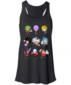 Dragonball Chibi Sticker Jiren Goku Women's Tank Top