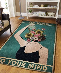 Mental Be Kind To Your Mind Rug
