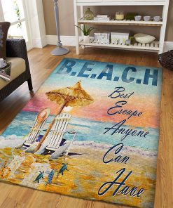 Ocean Beach But Escape Anyone Can Have Rug