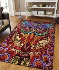 Owl Like Peacock Rug