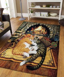 Sleep Cat Rug