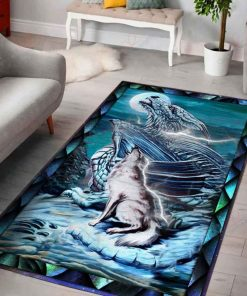 The Dragon Wolf Moon Rug