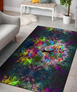 Tree Of Life Art Rug