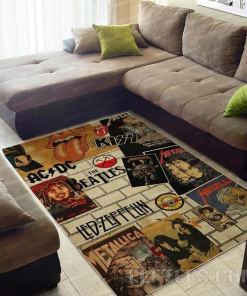 60s Music Area Limited Edition Rug Carpet