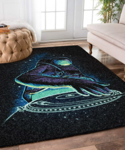 Astronaut Weird Beautiful Rug Carpet