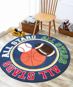 Baseball Rugby Basketball Rug Carpet