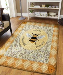 Bee Kind Bee Thankful Beehumble Rug Carpet