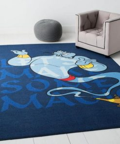 Disney Aladdin Genie Bluearea Rug Carpet