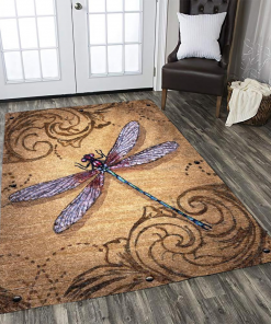 Dragonfly Limited Edition Rug Carpet