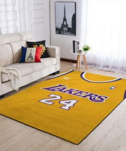 Kobe Bryant 24 Lakers Rug Carpet