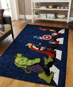 Marvel Avenger Abbey Road style Rug Carpet
