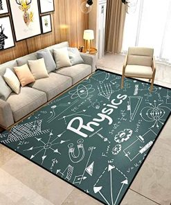 Mathematical Formula Equation Rug Carpet