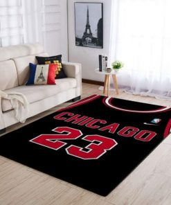 Michael Jordan 23 Chicago Bulls Rug Carpet